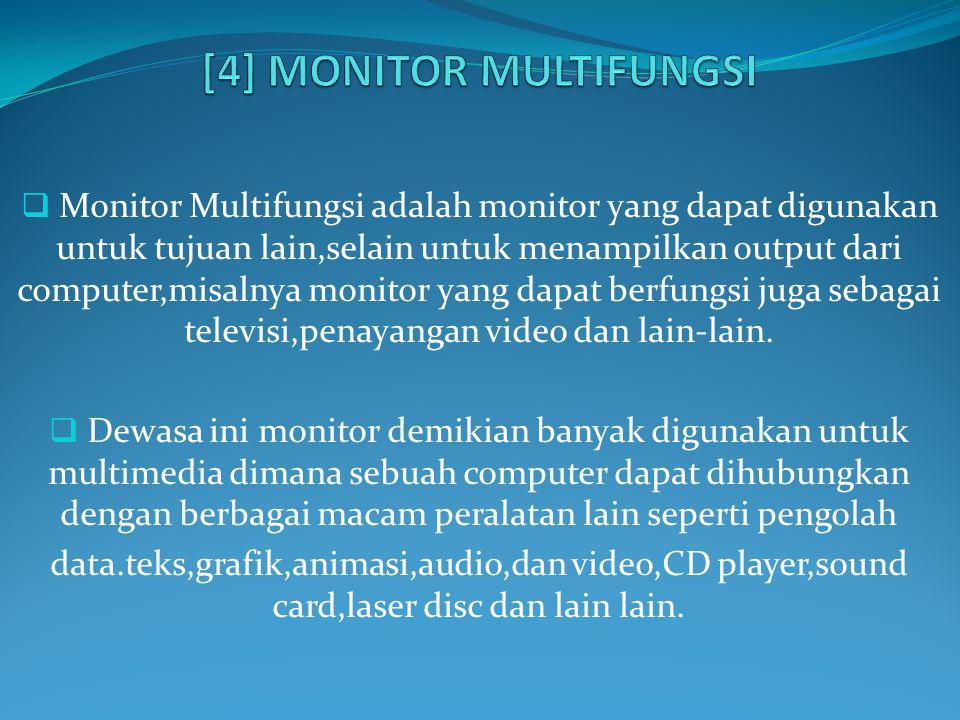 [4] MONITOR MULTIFUNGSI